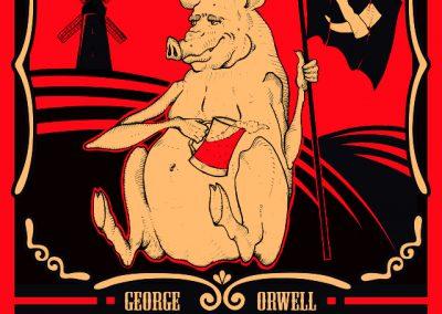 Rebelión en la granja.- George Orwell